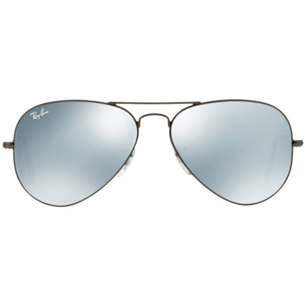 ray ban aviator 3025 029 30 silver flash plata espejo