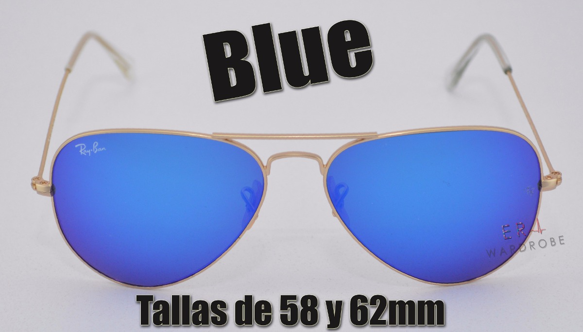0b675352281ca ray ban aviator azul - the flash lenses edition (original). Cargando zoom.