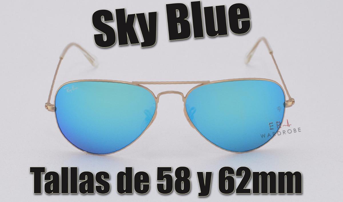 22718b2fa ray ban aviator azul - the flash lenses edition (original). Cargando zoom.