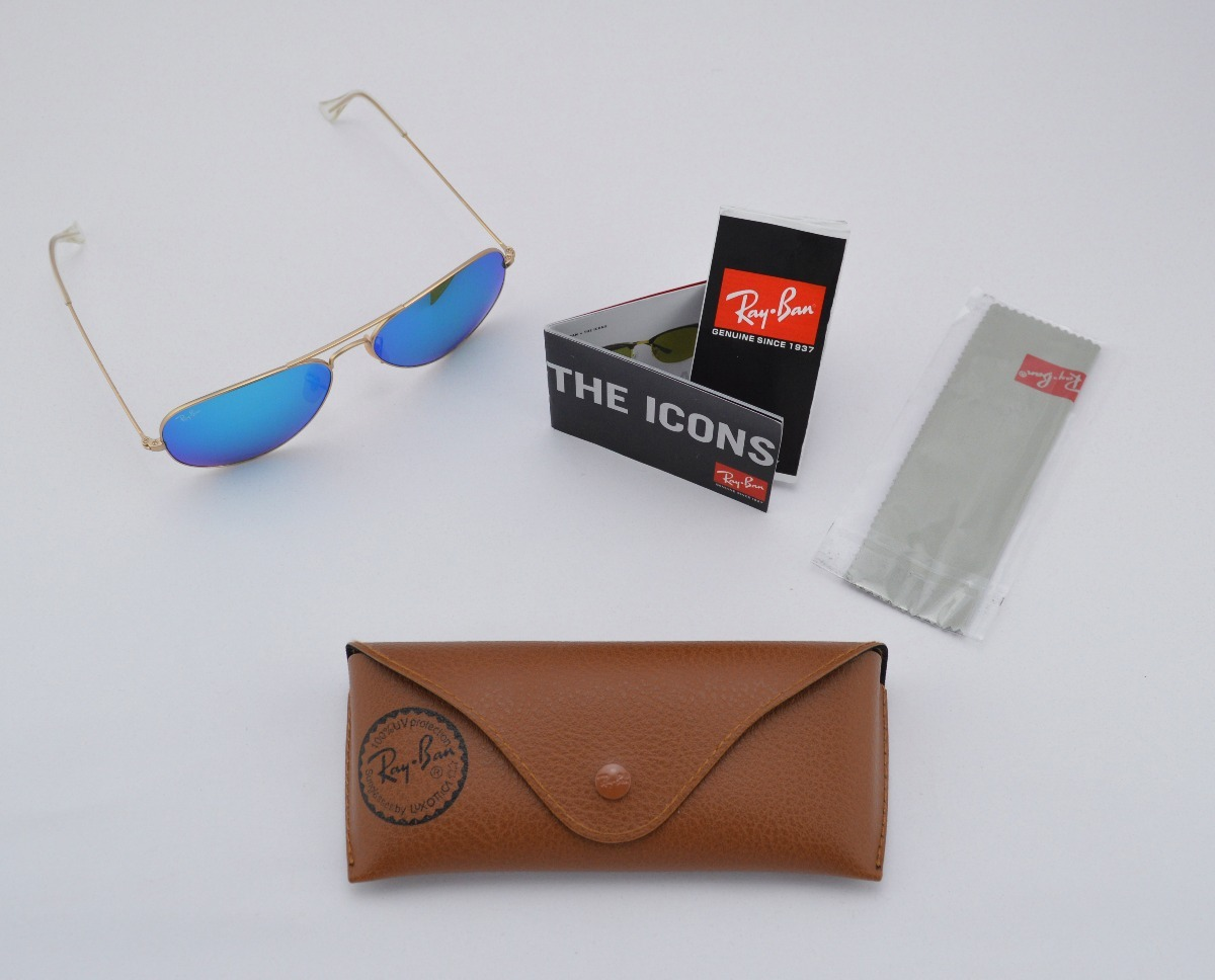 0b675352281ca ray ban aviator azul - the flash lenses edition (original). Cargando zoom.