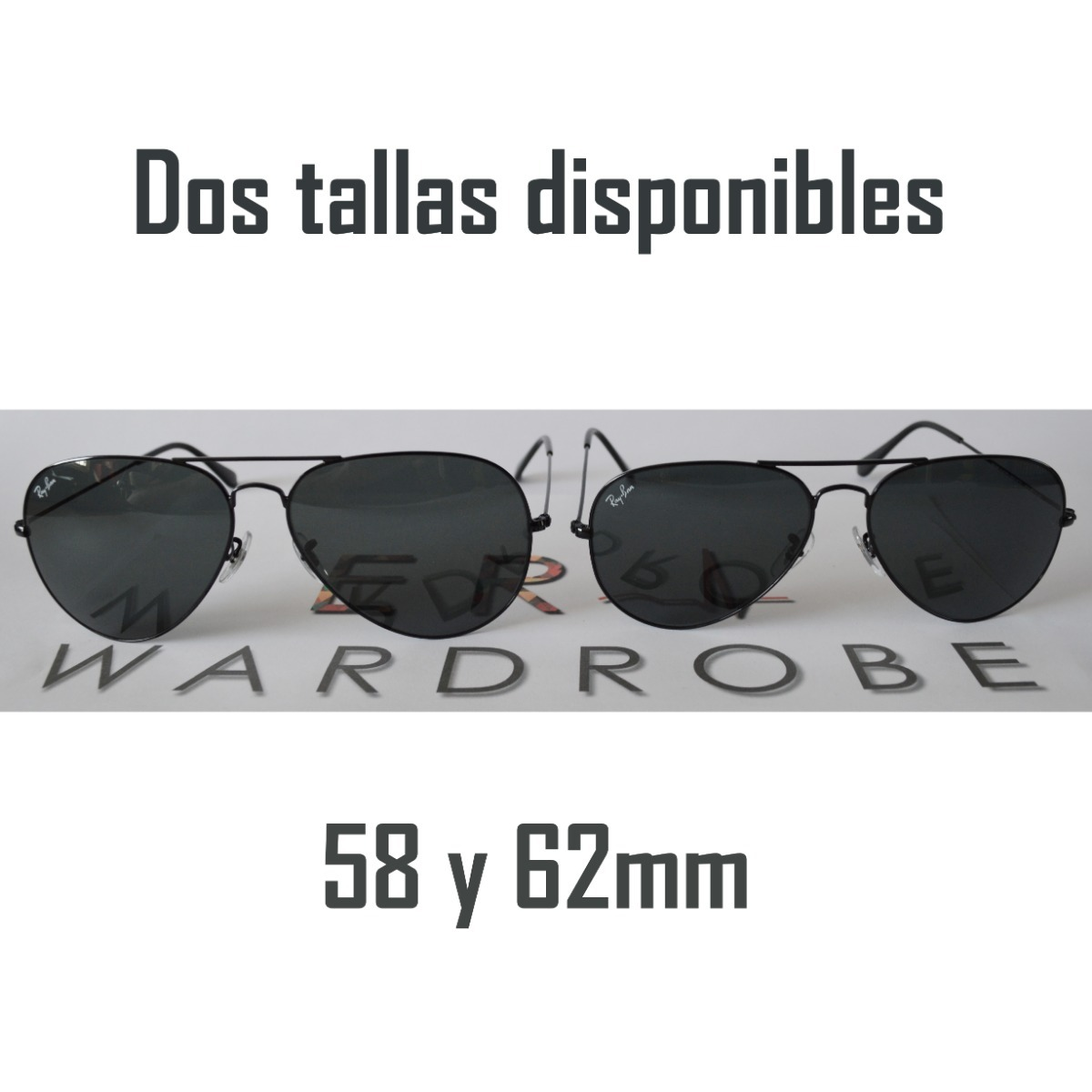 2c659cc746cfe Ray Ban Aviator Black Originales (aviador Negro) -   74.990 en ...