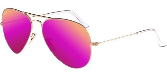 6898ece48bda8 Ray Ban Aviator Color Pink Rosa Aviador 3025 3026 Grande -   929.00 ...