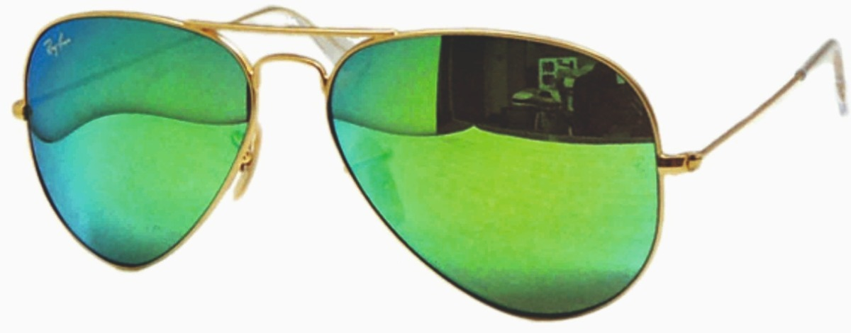 e1cefd83ef550 ray ban aviator espejo verde grandes rb 3026 112 19. Cargando zoom.