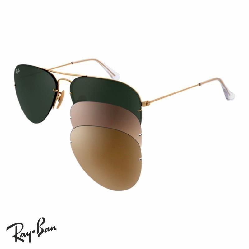 7dfb337625 9f056 bdd01; shopping ray ban aviator flip out rb 3460 originales italianos  envios. cargando zoom. c54bd