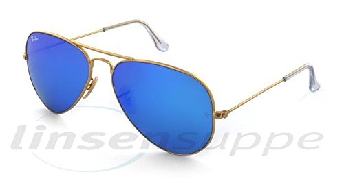 35b162c3ff Ray-ban Aviator Gafas De Sol De Metal Grandes Rb3025- Marco - $ 1.390.777  en Mercado Libre