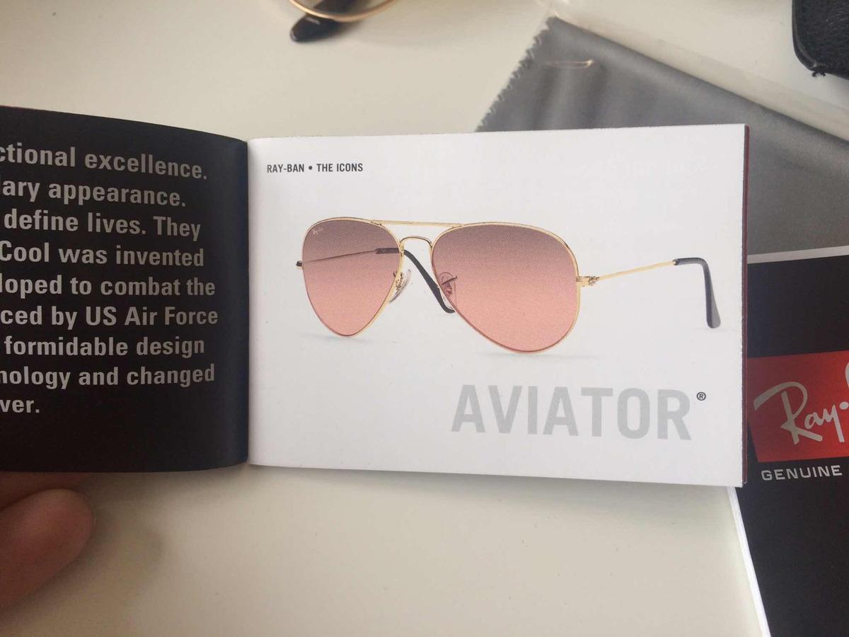 identificar ray ban aviator originales