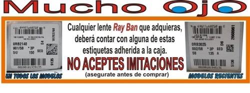 ray ban aviator rb 3025 019/z2 espejo rosa gota mediana