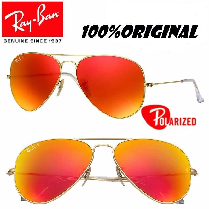 cf288f9868a37 ray ban aviator rb3025 112 4d polarizado 100% original. Cargando zoom.