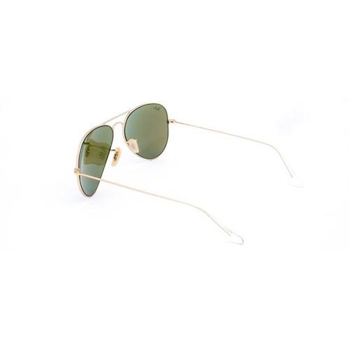 e19eb257d ray-ban aviator verde espelhada azul/dourado fosco rb3025 58. Carregando  zoom.