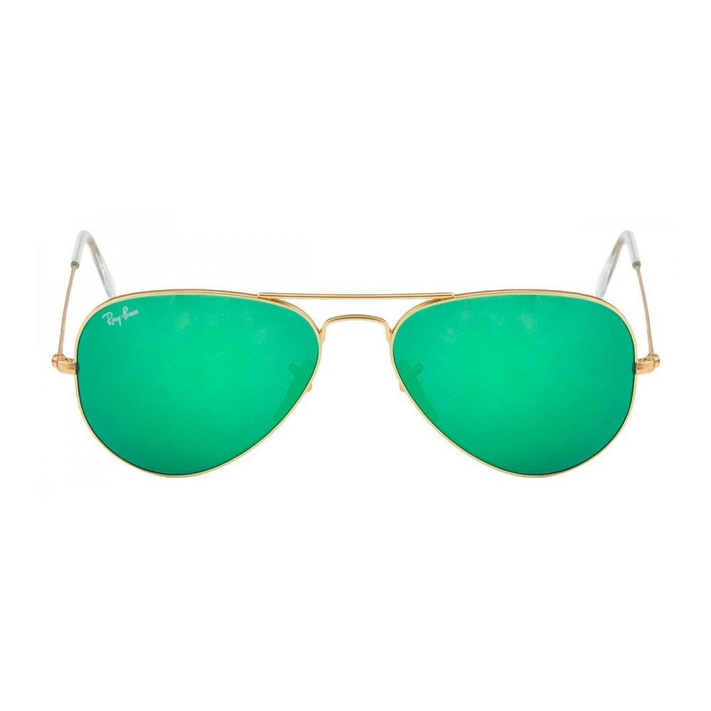 ray ban aviator verde espelhado armação dourado brilhante rb. Carregando  zoom. 8956396938