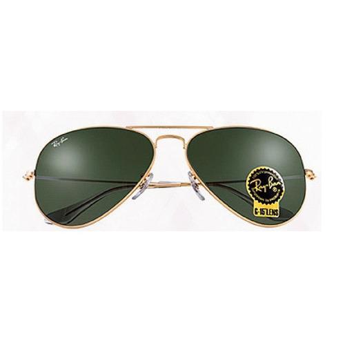 Ray Ban Aviator Verde Rb3026 Masculino - Feminino + Brinde - R  210 ... 6d195920f4