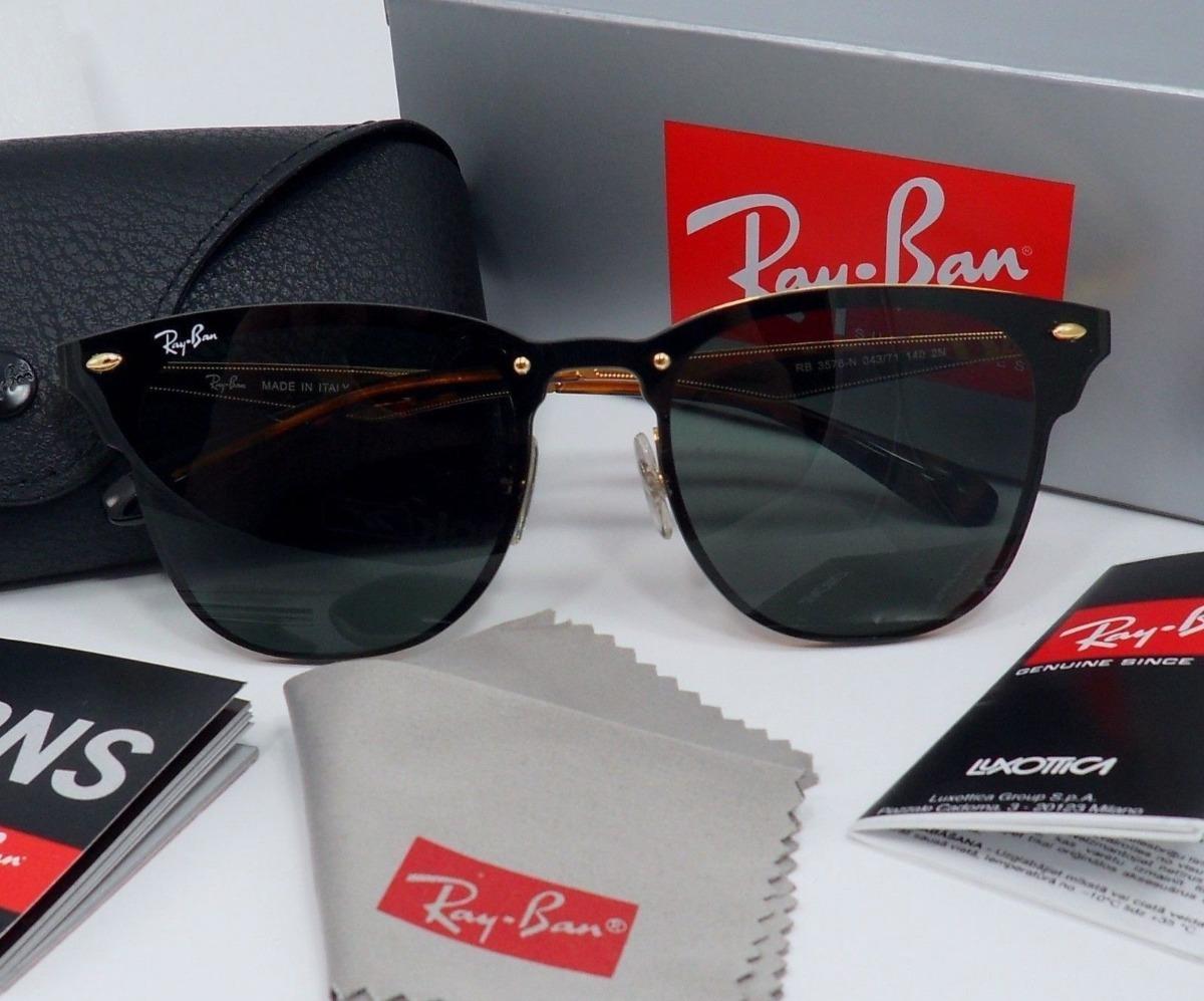 Ray-ban Blaze Clubmaster Rb3576 Oculos De Sol Unissex - R  226,64 em ... f6925d6fe6