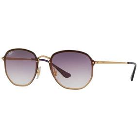 6d7a11fe4 Rayban Hexagonal - Óculos De Sol Blaze Hexagonal com o Melhores ...