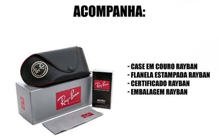 98acfebf9 Ray Ban Blaze Lançamento Erika Round Redondo Gatinho - R$ 38,75 em ...