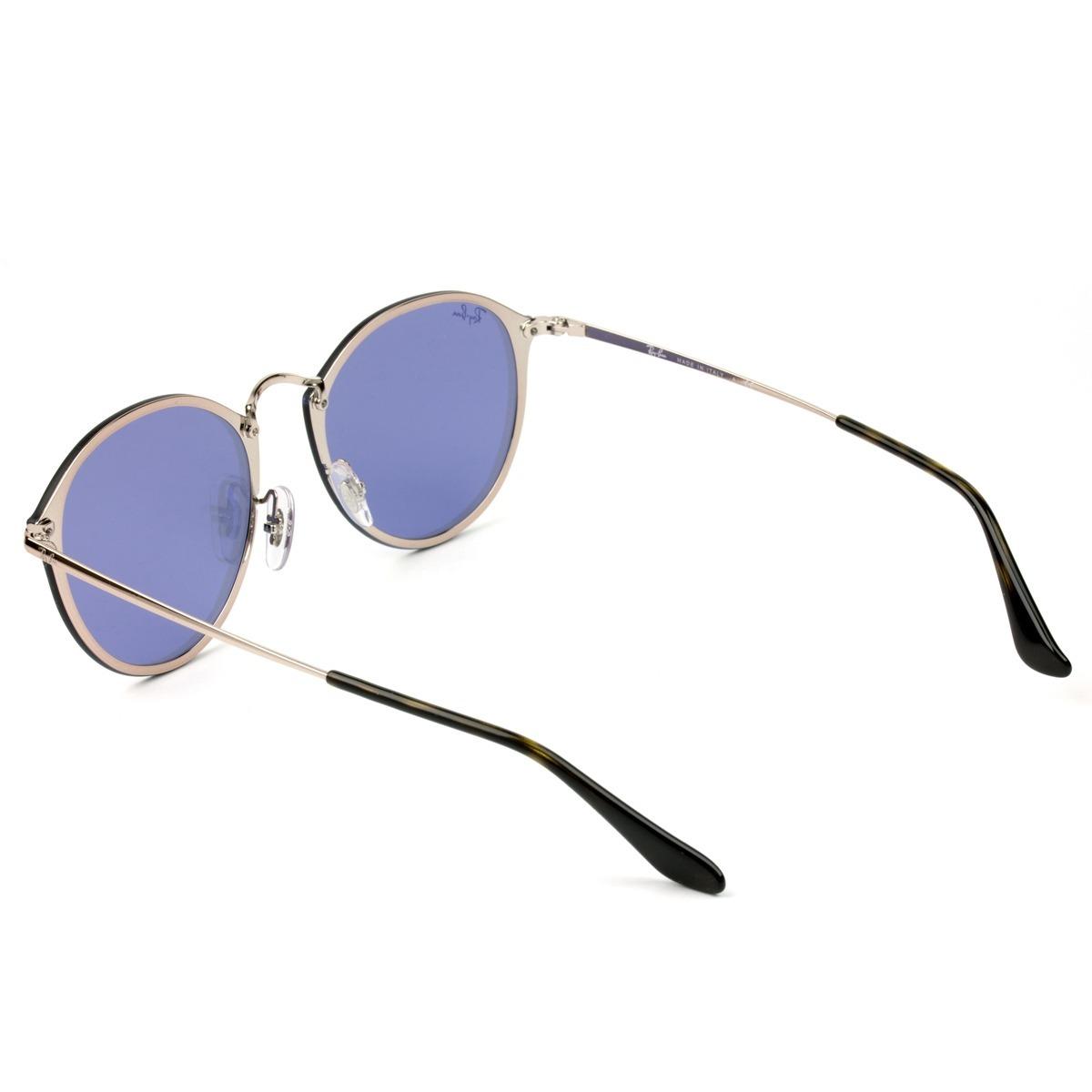 69bebe95e2f05 ray ban blaze round rb3574n 9035 1u 59 - óculos de sol. Carregando zoom.