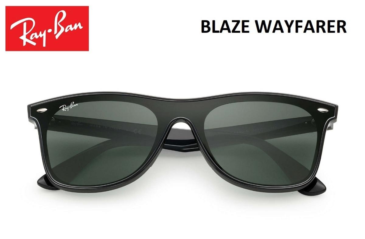cce2196c0 Ray Ban Blaze Wayfarer Rb4440 Original Lançamento + Brinde - R$ 220,00 em  Mercado Livre