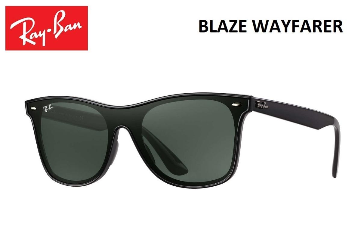 6fe8301f4 Ray Ban Blaze Wayfarer Rb4440 Original Lançamento + Brinde - R$ 220 ...