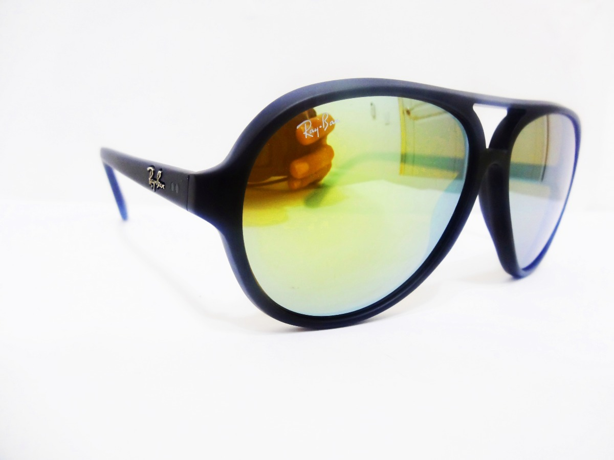 401a53b49257f ... uk ray ban cats 5000 rb4125 601s 93 59mm negro mate amarillo. cargando  zoom.