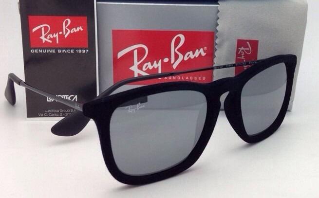 26d7c9dfe2b73 Ray Ban Chris Rb 4187 Rayban Veludo + Frete Gratis - R  129,99 em Mercado  Livre