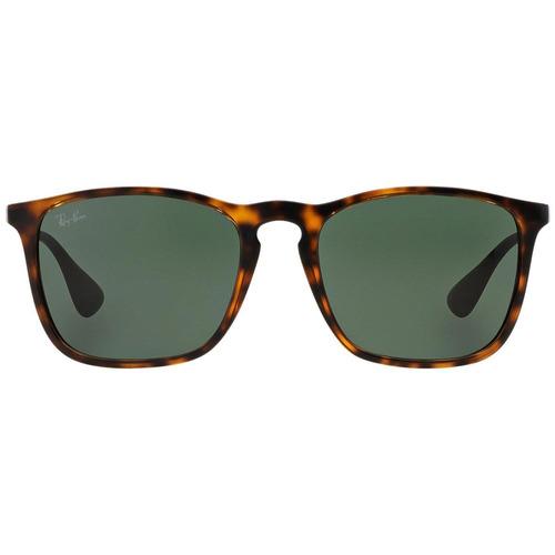 ray-ban chris rb4187l 710/71 54 - havana/verde clássico