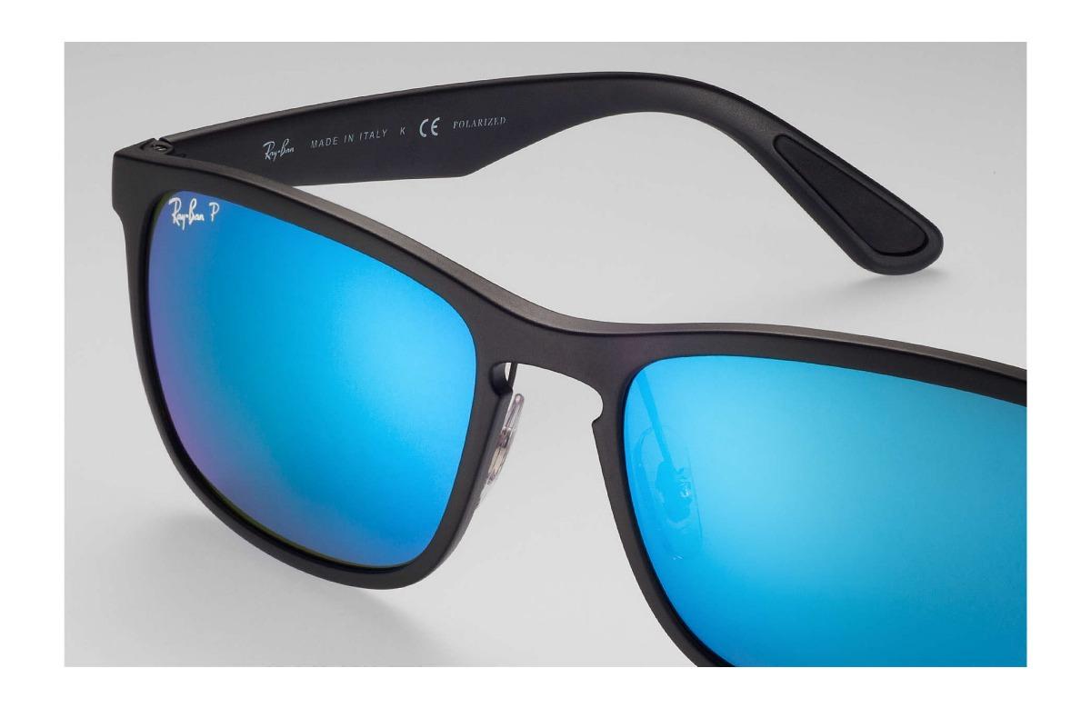 c414baf37071a Ray Ban Chromance 4264 601sa1 58 Polarizado Negro Azul -   7.533,75 ...