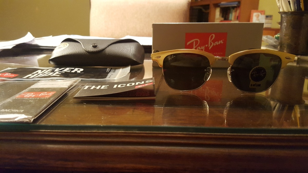 3a8e8bb5964ad Ray Ban Clubmaster Aluminum 3507 139 – Southern California Weather Force