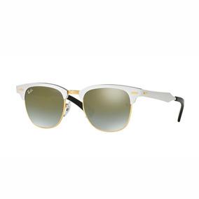 f66dfa0f9 Óculos De Sol Ray Ban 3507 137/40 Clubmaster Aluminum - Óculos no Mercado  Livre Brasil