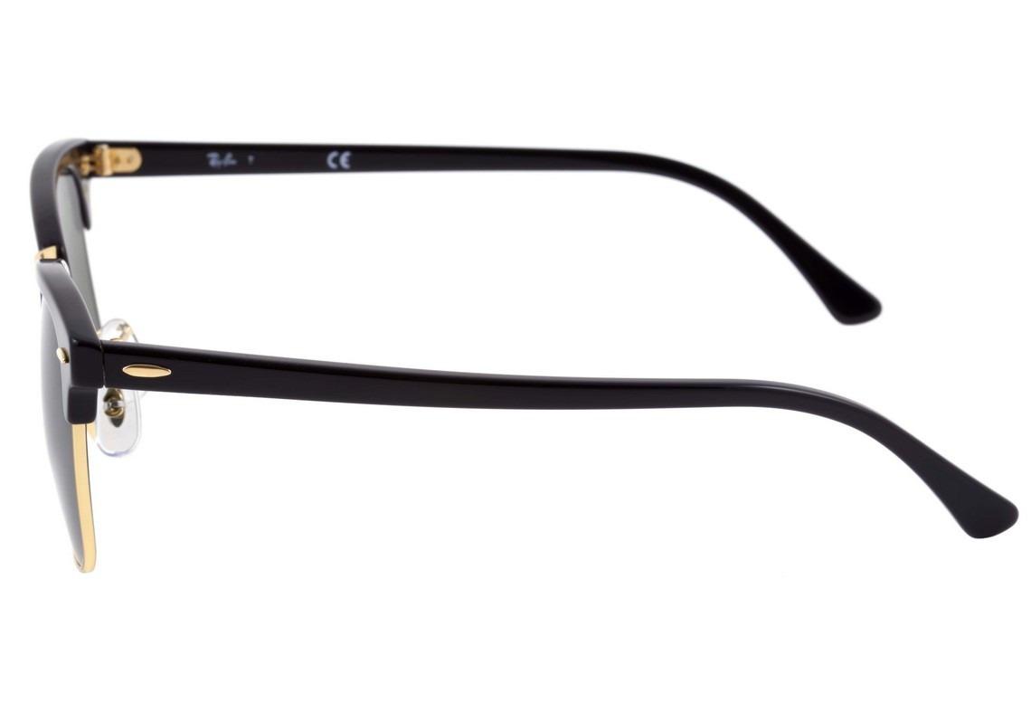 21340bae97a48 Óculos De Sol Ray Ban Clubmaster Rb 3016 W0365 - Original - R  489 ...