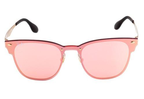789dfae3913a8 ray ban clubmaster óculos sol · óculos sol ray ban clubmaster blaze rosa  feminino lançamento