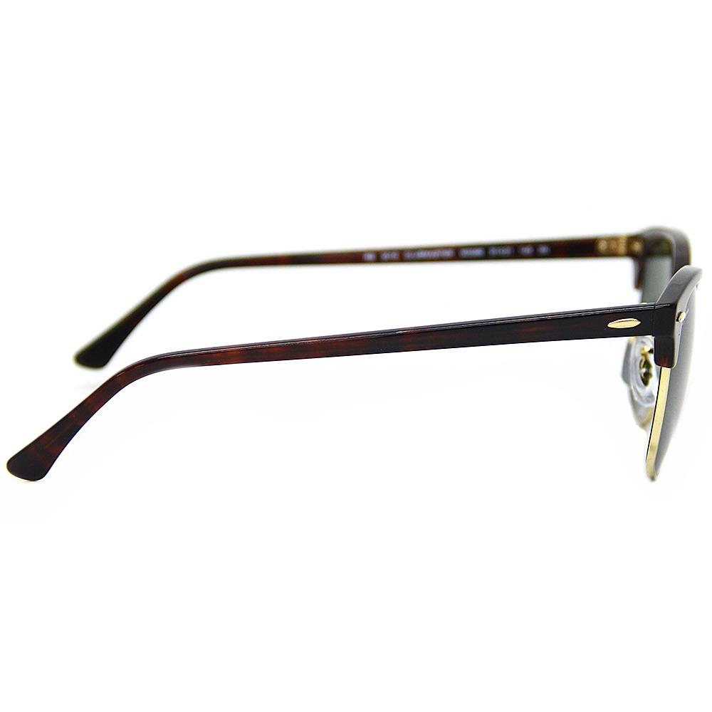 3841655099f21 Óculos Sol Ray Ban Clubmaster Rb 3016 Original - R  350,00 em Mercado Livre