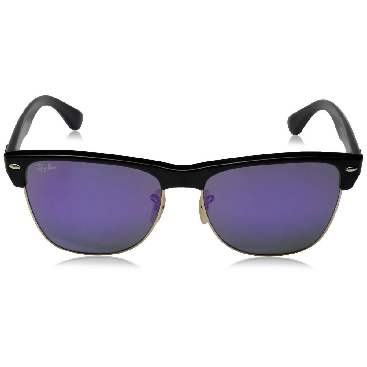 a493817419 ray ban clubmaster oversized rb 4175 877/1m violeta espejo. Cargando zoom.