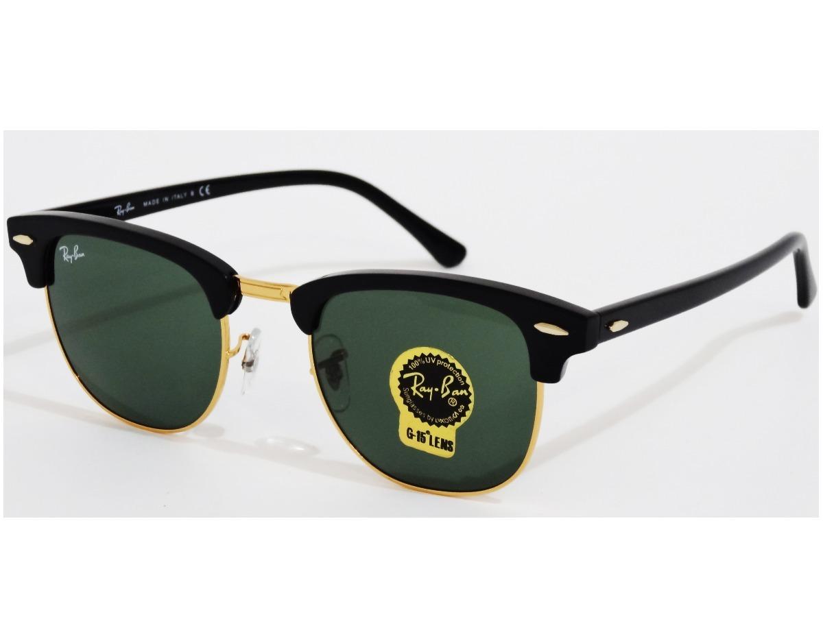 a5331d608 9d83b 8c2bb; buy ray ban clubmaster rb3016 w0365 gota 51mm verde oscuro  negro. cargando zoom. 0d7bc