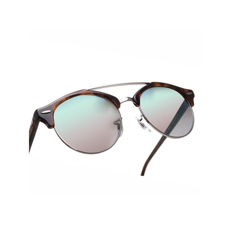 7ba666dadbd ray ban clubround double bridge rb4346 6251 9j 51 tartaruga . Carregando  zoom.
