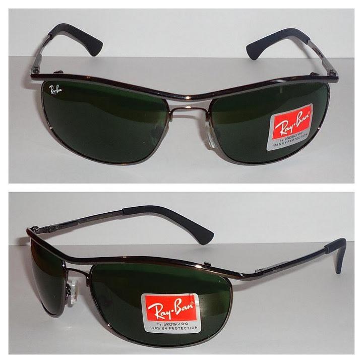 bb6cdcae508f8 ray ban 8012 demolidor grafite lentes verdes polarizadas · ray ban demolidor