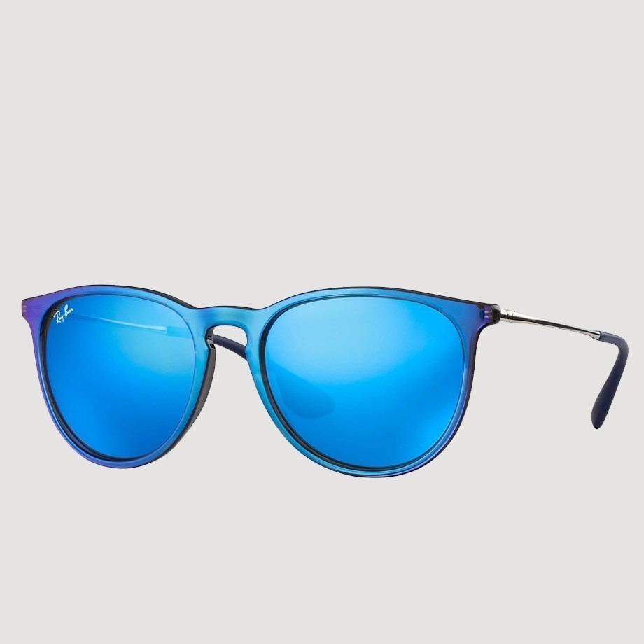 be29cd80c ray ban erika espelhado rb4171 631855 54 azul / roxo rb 4171. Carregando  zoom.