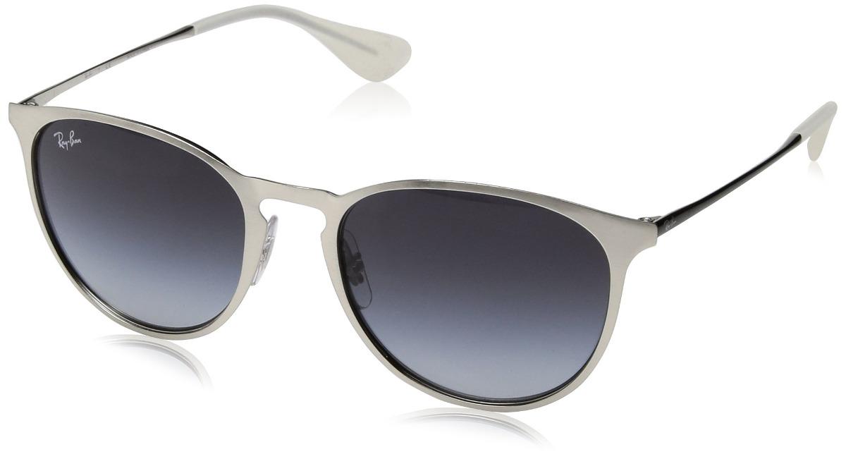 f5cf9f7f26 ray ban erika gafas de sol redondas de metal cepilladas pla. Cargando zoom.