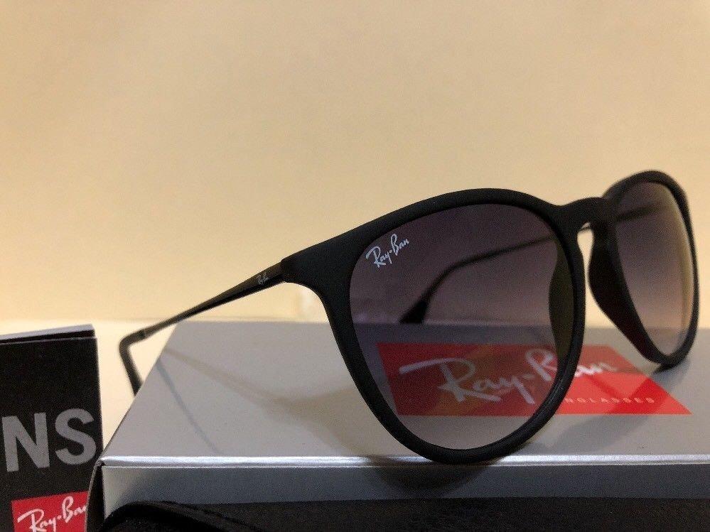 Carregando zoom... óculos de sol ray ban erika rb 4171 preto original  feminino 3f20529cf9df5