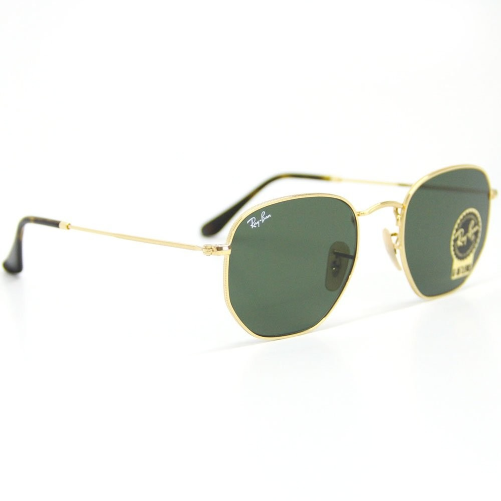 ray ban hexagonal armação dourado lente verde promoção. Carregando zoom. ee8633ba97
