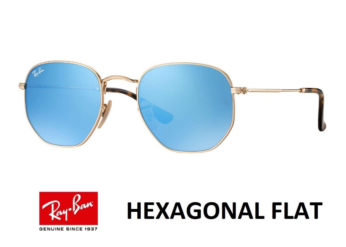 7a00d2b904cf0 Ray Ban Hexagonal Flat 3548 Original Envio Em 24h Oferta - R  198,90 em  Mercado Livre