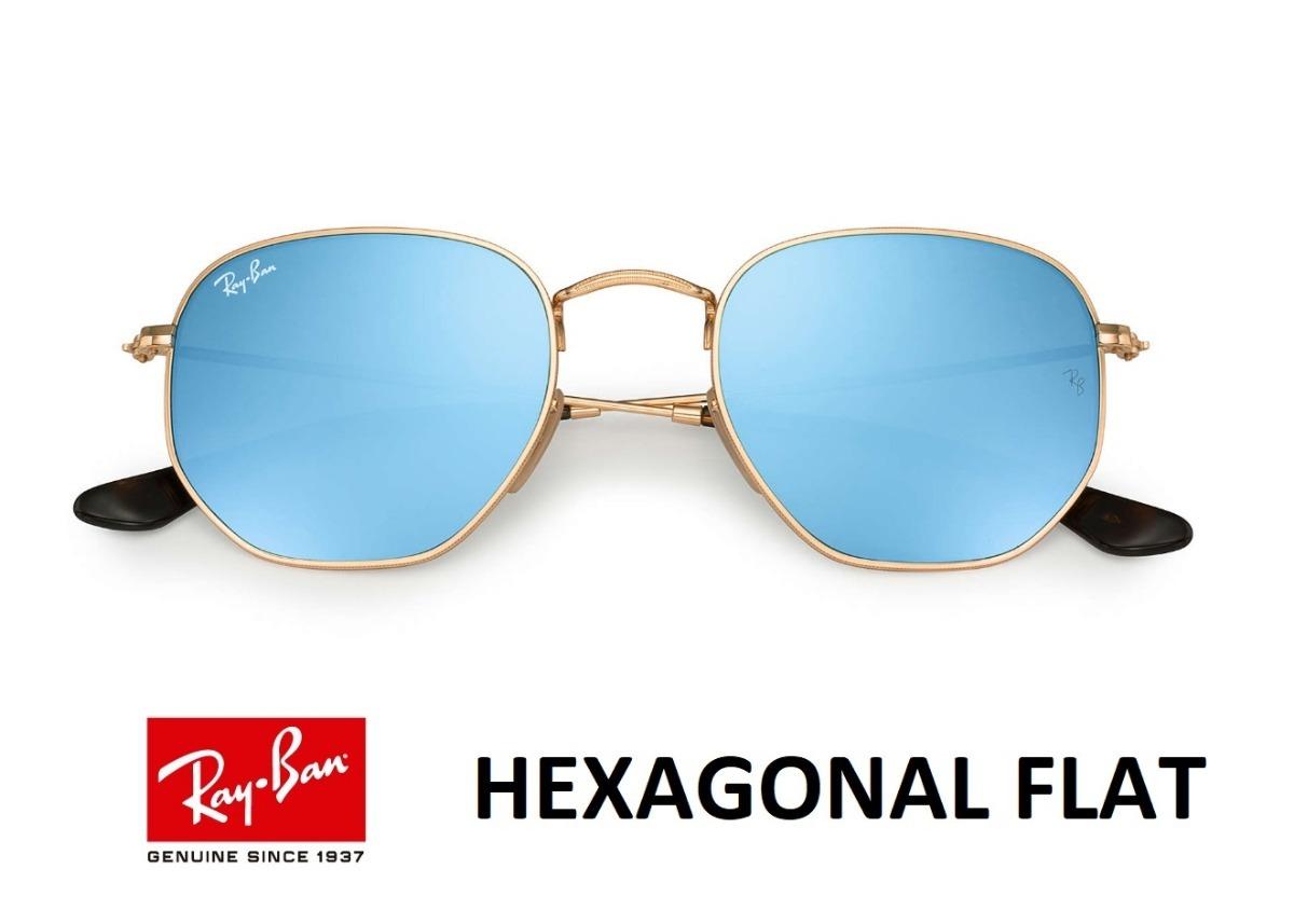 Ray Ban Hexagonal Flat 3548 Original Envio Em 24h Oferta - R  198,90 ... 6359aeb92c