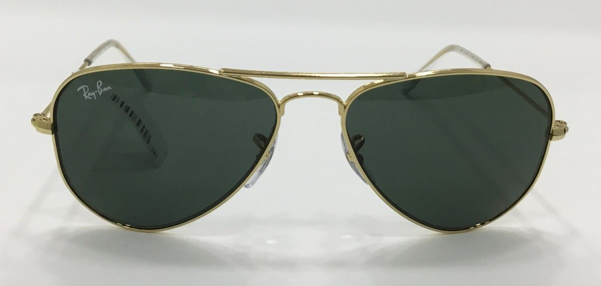 05dab2d69b2d4 ray ban junior aviador dourado verde. Carregando zoom.