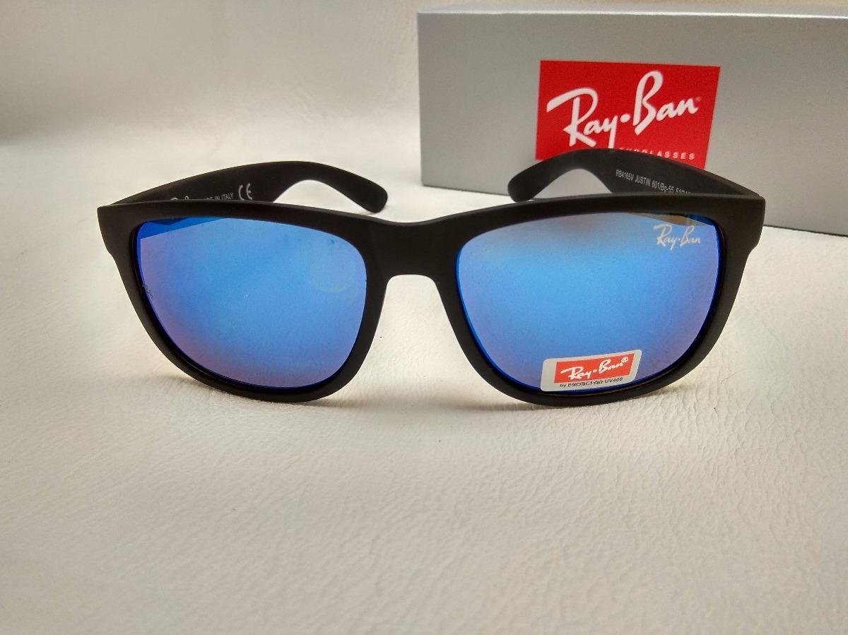 ray ban justin azul