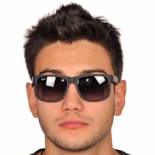 ... clássico marrom verde degradê · óculos sol ray ban justin · ray ban  justin óculos sol a4594b75fd