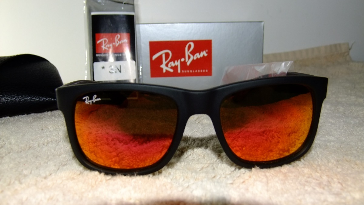 d52e6bef9f11e Ray-ban Justin Rb 4165 Tam  51x16 Comprei No Site Oficial Rb - R ...