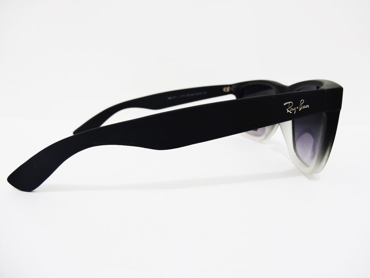 ray ban justin rb4165 852 88 54mm negro con blanco degradado. Cargando zoom. 950a4e46c0