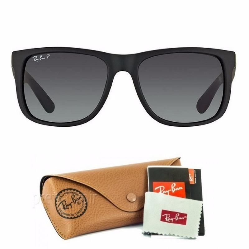 1916b9176bd49 Ray Ban Justin Rb4165 Polarizado Oculos De Sol Masculino - R  200,00 ...