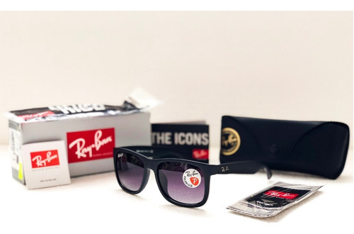 ray ban justin rb4165 polarized 100% originales promocion