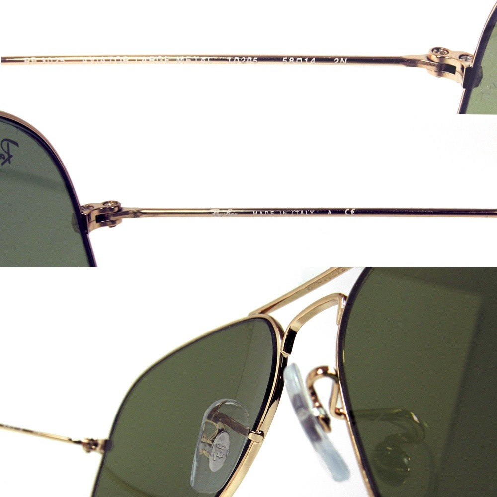 rb3025 aviator large metal l0205  Ray Ban Lentes Mod Aviator Large Metal Rb 3025 Col L0205 ...