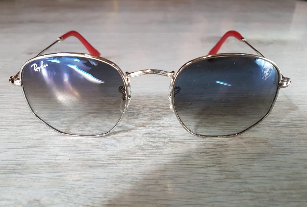 7494f682a5 Cargando zoom... lentes ray ban rb3548nm scuderia ferrari collection azul