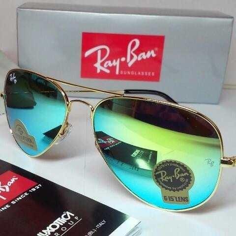 lentes ray ban verdes originales